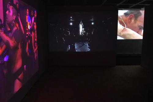 In Between Identities overview: RON ATHEY, Franko B, STELARC