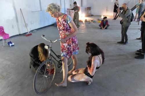 Ingrid Adriaans (NL), Carmen Lafran (DE/IT), Larysa Bauge (BY/NL)